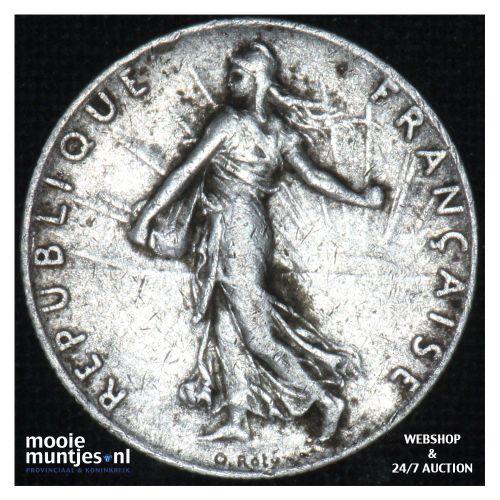 50 centimes - France 1915 (KM 854) (kant B)