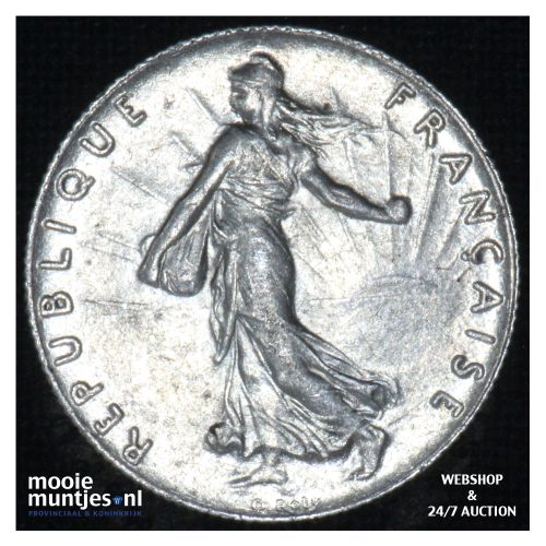 50 centimes - France 1916 (KM 854) (kant B)