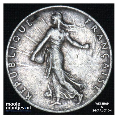 50 centimes - France 1919 (KM 854) (kant B)