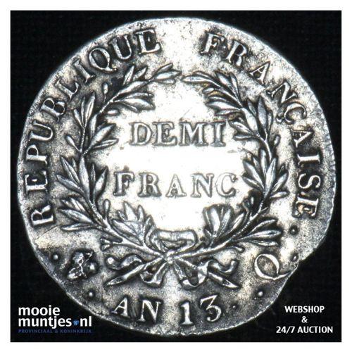 1/2 franc - France AN13 Q (KM 655.11) (kant A)