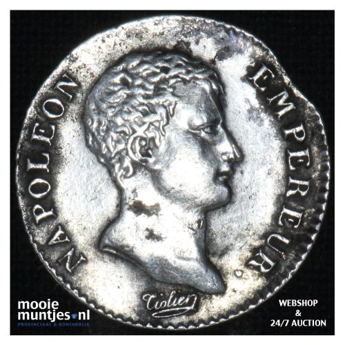 1/2 franc - France AN13 Q (KM 655.11) (kant B)