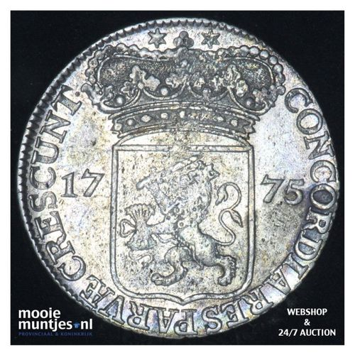 Zeeland - Zilveren dukaat - 1775 (kant A)