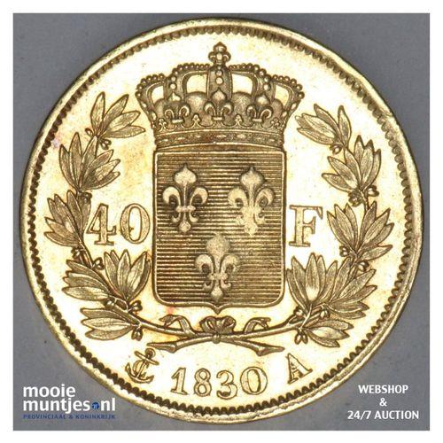 40 francs - France 1830 A (KM 721.1) (kant A)
