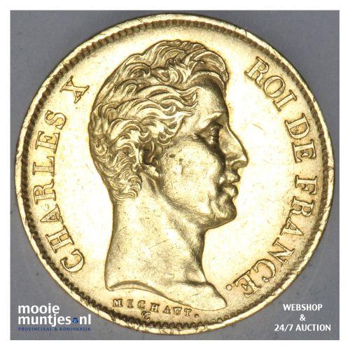40 francs - France 1830 A (KM 721.1) (kant B)