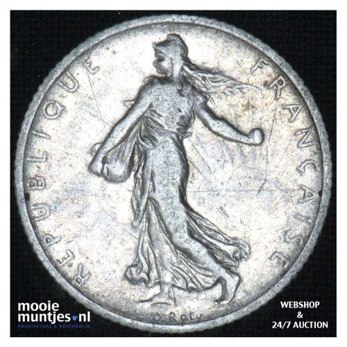 1 franc - France 1905 (KM 844.1) (kant B)