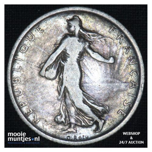 1 franc - France 1904 (KM 844.1) (kant B)