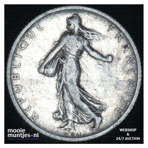 1 franc - France 1903 (KM 844.1) (kant B)