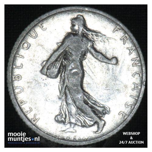 1 franc - France 1902 (KM 844.1) (kant B)