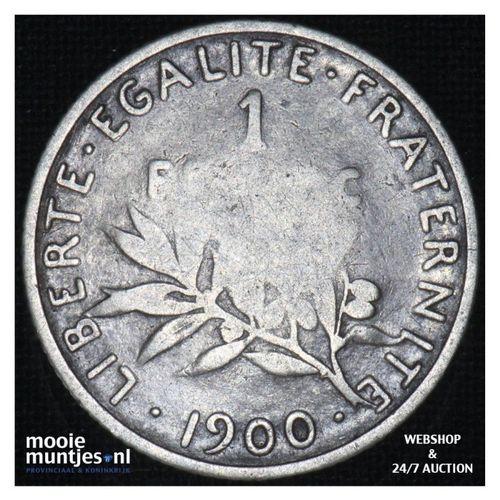 franc - France 1900 (KM 844.1) (kant A)