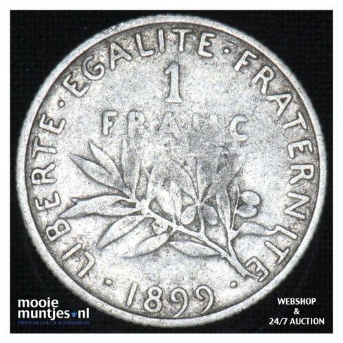 franc - France 1899 (KM 844.1) (kant A)