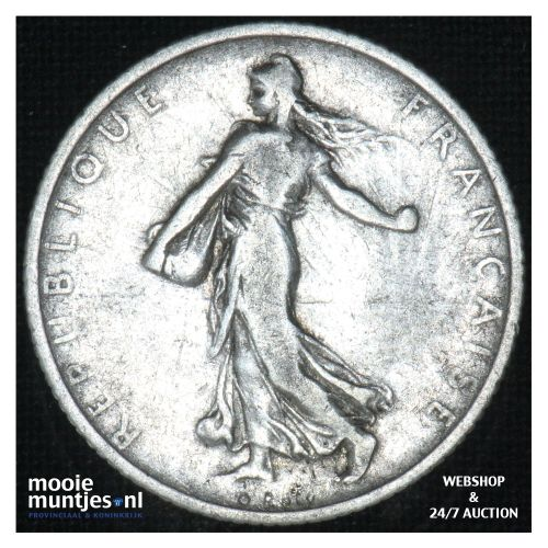 franc - France 1899 (KM 844.1) (kant B)