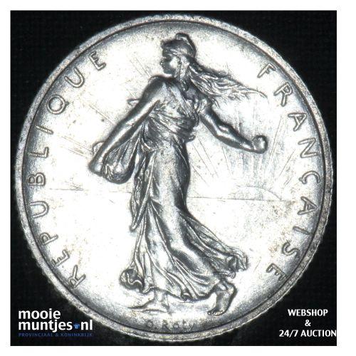 1 franc - France 1918 (KM 844.1) (kant B)