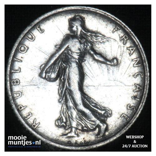 1 franc - France 1916 (KM 844.1) (kant B)