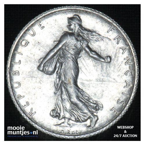 1 franc - France 1915 (KM 844.1) (kant B)
