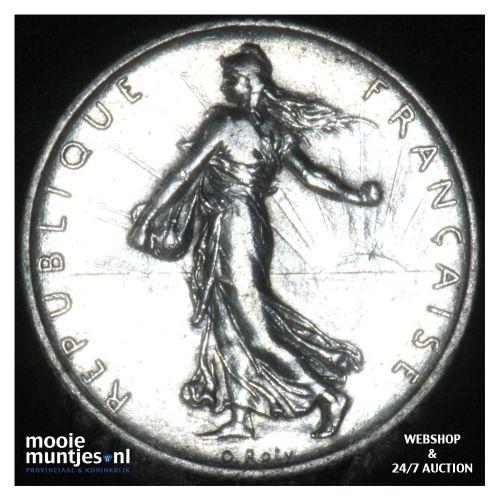 1 franc - France 1914 (KM 844.1) (kant B)