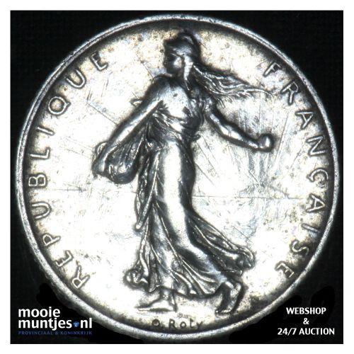 1 franc - France 1913 (KM 844.1) (kant B)
