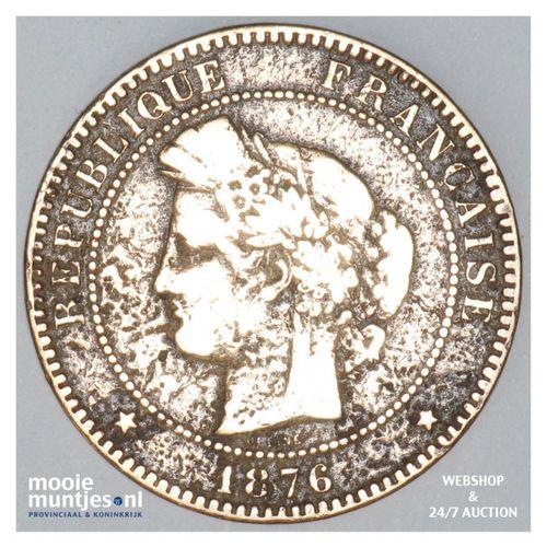 10 centimes - France 1876 A (Paris) (KM 815.1) (kant A)