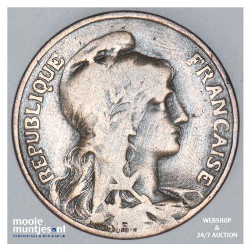 10 centimes - France 1905 (KM 843) (kant B)