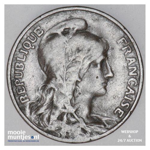 10 centimes - France 1910 (KM 843) (kant B)