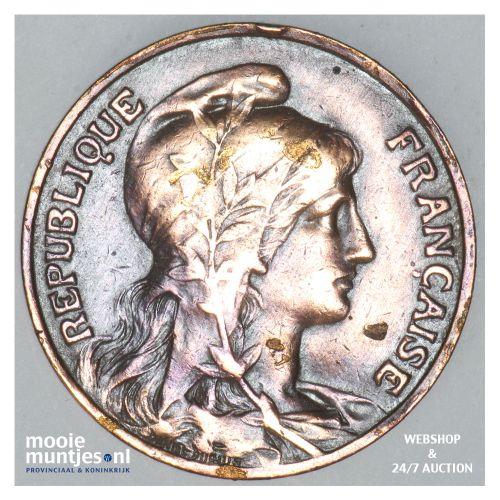 10 centimes - France 1913 (KM 843) (kant B)