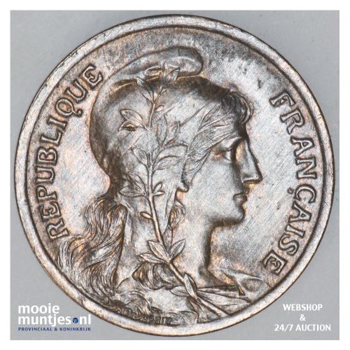 10 centimes - France 1917 (KM 843) (kant B)