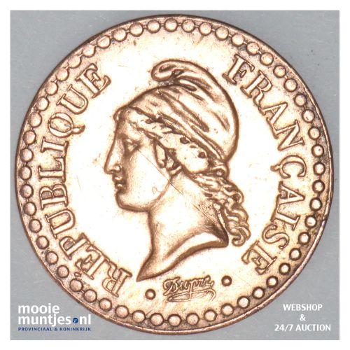 centime - France 1850 A (Paris) (KM 754) (kant B)