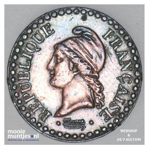 centime - France 1851 A (Paris) (KM 754) (kant B)