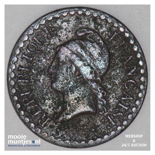 centime - France 1849 A (Paris) (KM 754) (kant B)