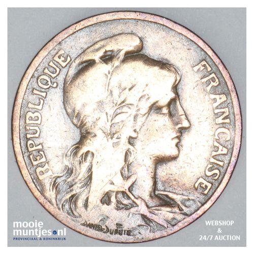 5 centimes - France 1901 (KM 842) (kant B)