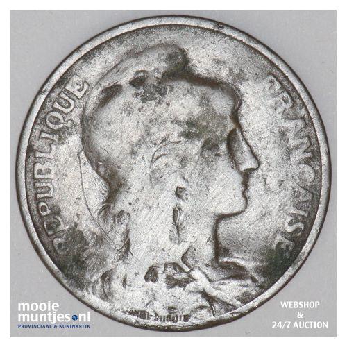 5 centimes - France 1904 (KM 842) (kant B)