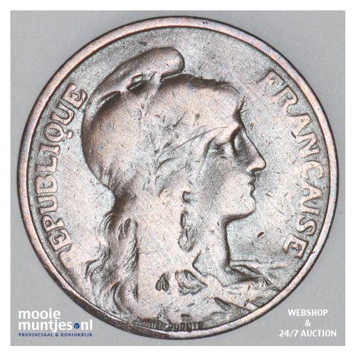 5 centimes - France 1905 (KM 842) (kant B)