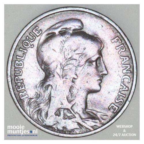 5 centimes - France 1906 (KM 842) (kant B)