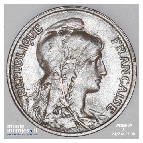 5 centimes - France 1912 (KM 842) (kant B)