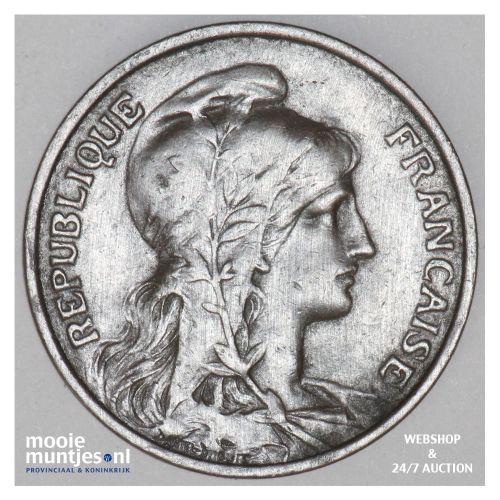 5 centimes - France 1913 (KM 842) (kant B)