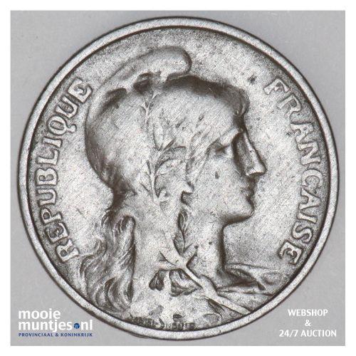 5 centimes - France 1914 (KM 842) (kant B)