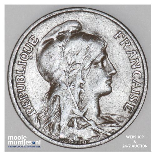 5 centimes - France 1915 (KM 842) (kant B)