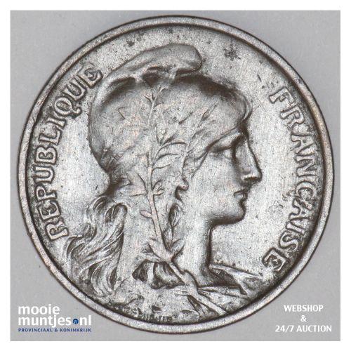 5 centimes - France 1916 (KM 842) (kant B)