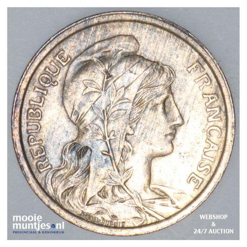 2 centimes - France 1914 (KM 841) (kant B)