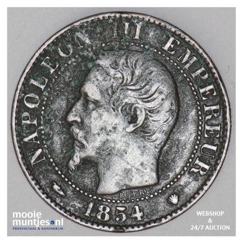 5 centimes - France 1854 MA (Marseille) (KM 777.6) (kant A)