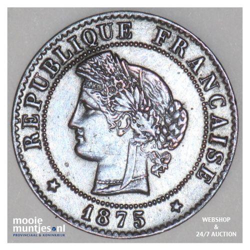 centime - France 1875 K (Bordeaux) (KM 826.1) (kant A)