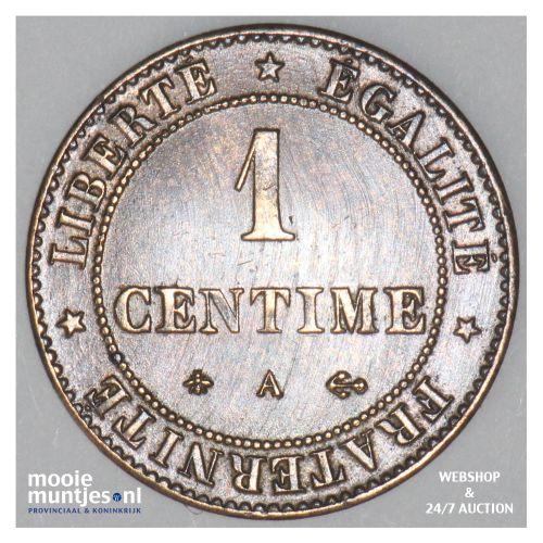 centime - France 1878 A (Paris) (KM 826.1) (kant B)
