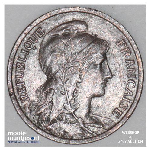 centime - France 1901 (KM 840 ) (kant B)