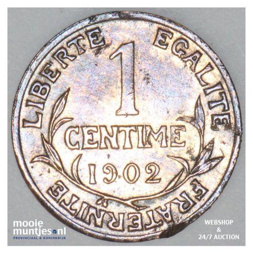 centime - France 1902 (KM 840 ) (kant A)