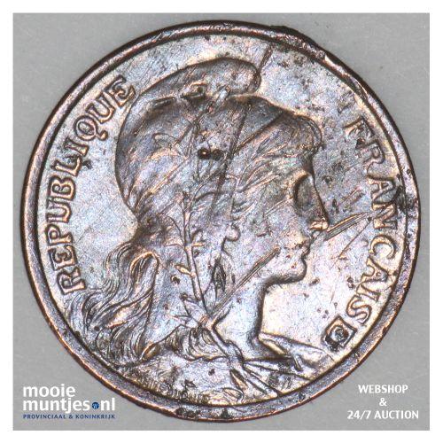 centime - France 1902 (KM 840 ) (kant B)