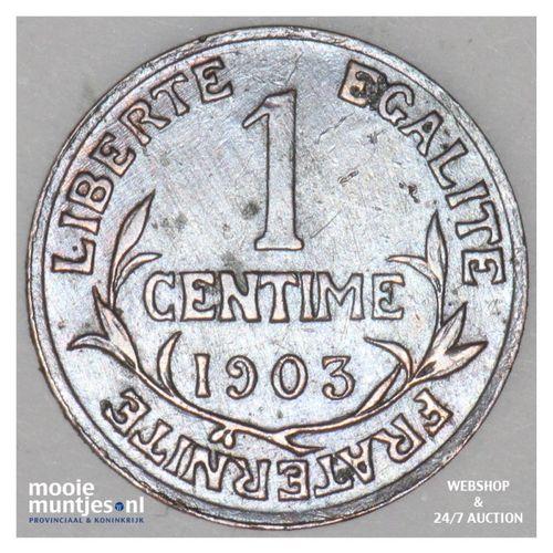 centime - France 1903 (KM 840 ) (kant A)
