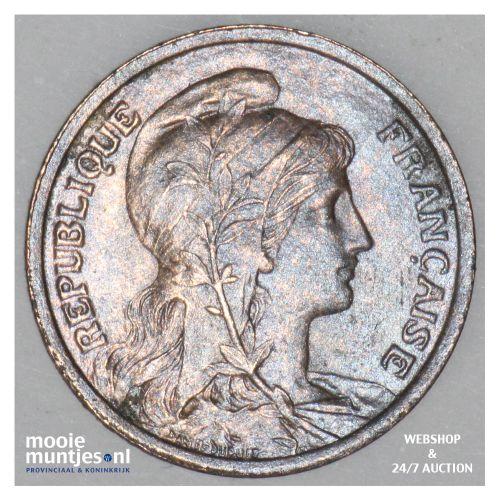 centime - France 1904 (KM 840 ) (kant B)