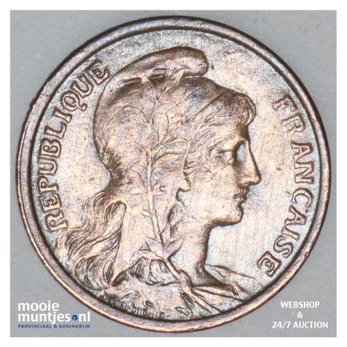 centime - France 1908 (KM 840 ) (kant B)