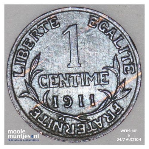 centime - France 1911 (KM 840 ) (kant A)