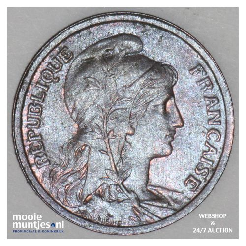 centime - France 1914 (KM 840 ) (kant B)