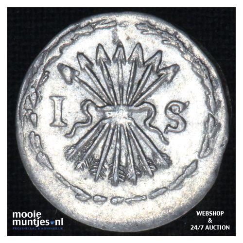 Zeeland - Pijl- of bezemstuiver - 1763 (kant B)